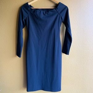 Eliza J Black fitted Dress Size 2P gorgeous